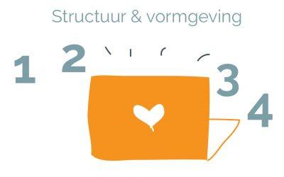 Structuur en vormgeving van je website aan de hand van 4 vragen