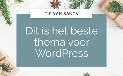 Dit is het beste thema voor WordPress