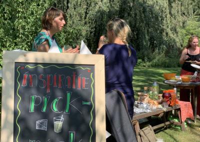 netwerk & inspiratie picknick Webbouwen aan de keukentafel